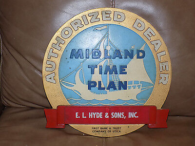 Authorized Dealer Midland Time Plan Wall Plaque