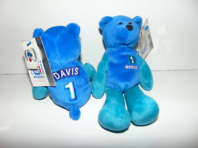 Given To FIRST 2500 Fans In 1999- Plush CHARLOTTE HORNETS Baron Davis #1 NWT NEW