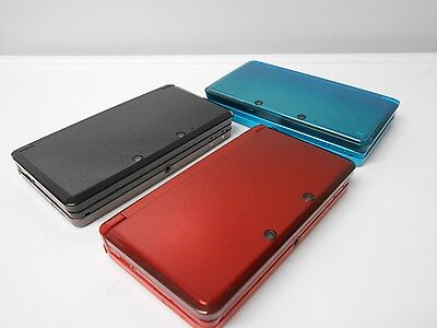 Nintendo 3Ds Systems W Charger Bundle Select Options   Color Free Ship System