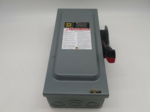 Square D H361 Heavy Duty Fusible Safety Switch