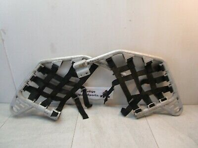 GYTR NERF BARS ! 04-09 yamaha yfz450 yfz 450 foot pegs left right nets guards