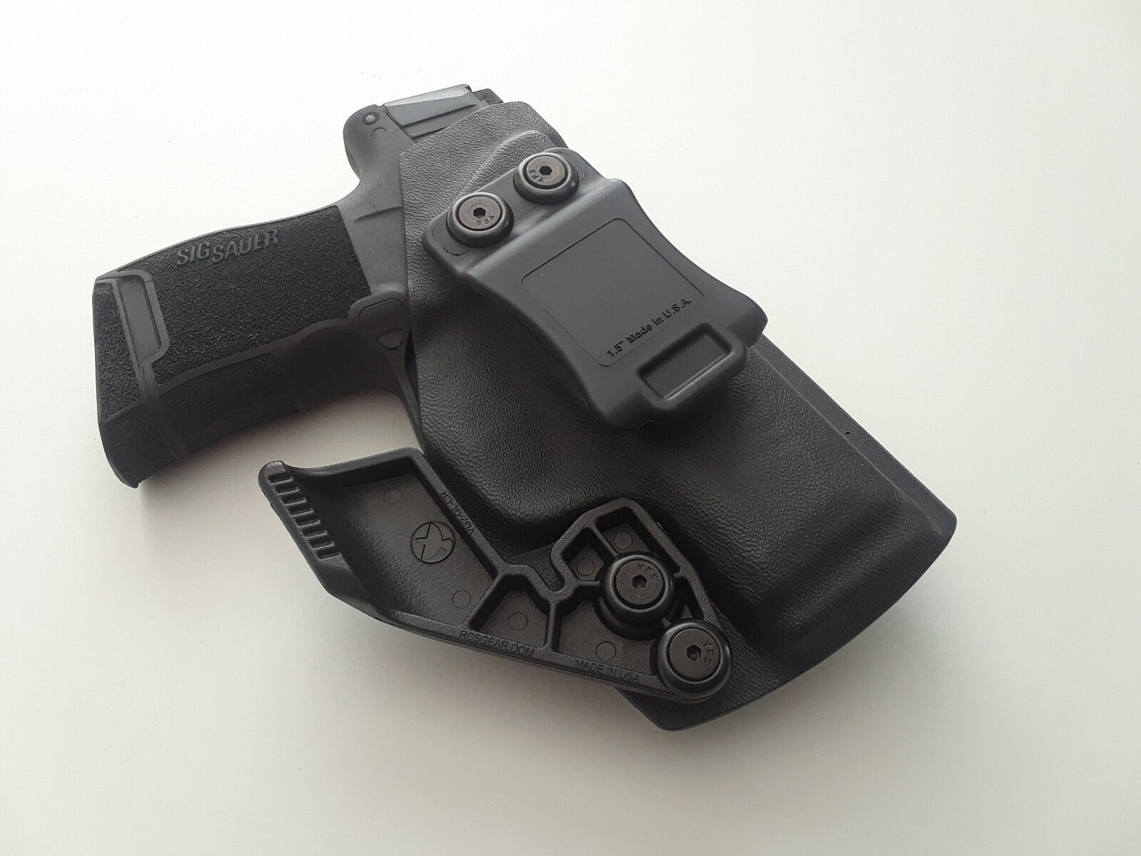 4-in-1 Holster IWB/AIWB Kydex Holster w/ RCS Claw Appendix