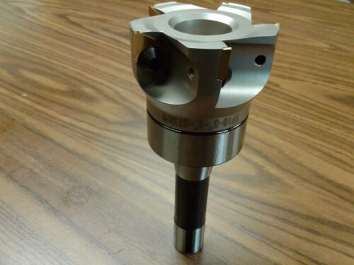 """3"""" 90 degree indexable face shell mill, R8 shank face milling cutter  #506-FMT-3"""