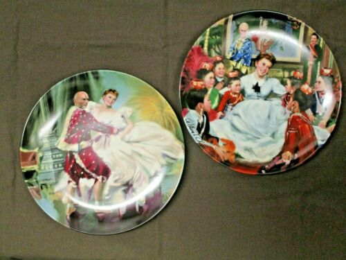 """2 Knowles """"The King and I"""" 1985 Collector Plates"""