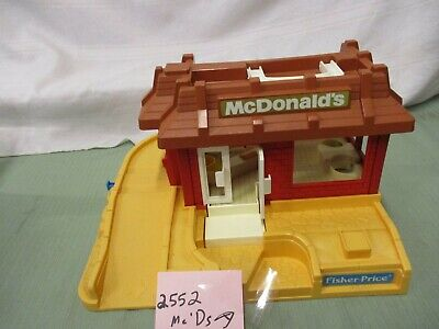 Fisher Price Little People McDonalds 2552 A Ronald Play Family Fast Food