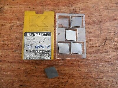 Kennametal CPG632 K68 carbide inserts (5)