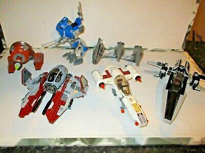 LEGO Star Wars Bundle Sith Nightspeeder, V-Wing, AT-RT, Jedi Interceptor ETC