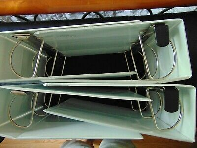 Lot Of 4 3 Ring Binders New Used White