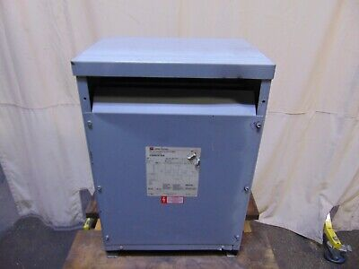 30 Kva Cutler Hammer Dry Type Distribution Transformer 480 Delta 208y 120