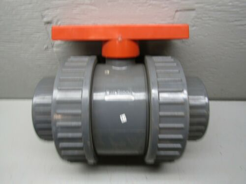 "Colonial 4"" PVC Ball Valve - Threaded type only - Full Block"