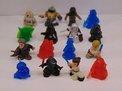 Star Wars MICRO FORCE WOW Series 1 Complete Set 16 Loose Figures