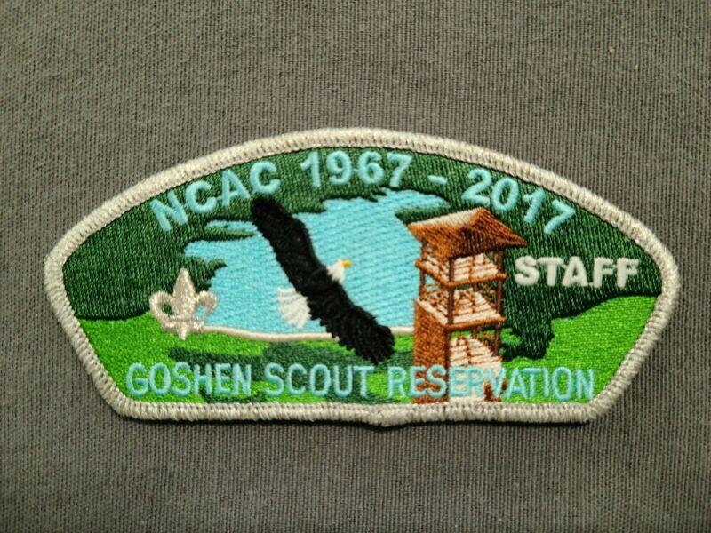 Goshen Scout Reservation GSR 50th Anniversary Staff Silver CSP