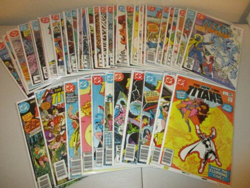 New Teen Titans #3-43 (Complete Lot of 44, DC 1980 Series) VF to NM, Tales of...