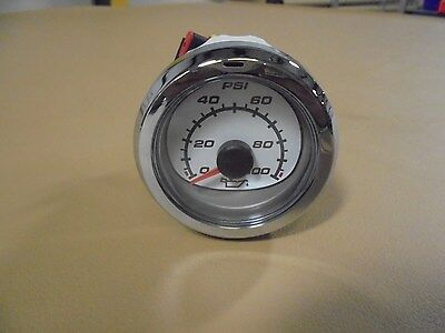 "MERCURY MARINE SMARTCRAFT 2"" OIL PRESSURE GAUGE #79-879916K31"