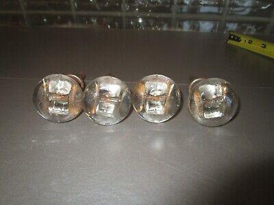 ANTIQUE  4 LARGE SLIDING GLASS ATTACHED CASTORS * DIFFERENT * NICE!!!!