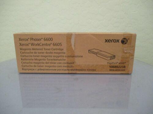 Genuine Phaser 6600, WorkCentre 6605 Magenta Metered Toner Cartridge New!