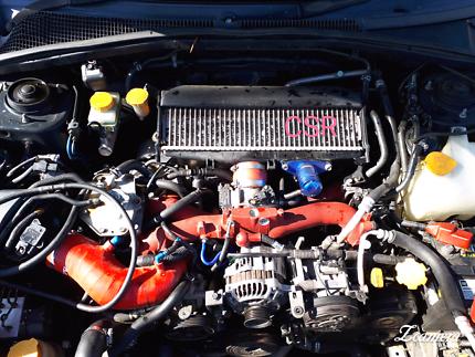 Subaru Forester EJ25 Turbo Engine STI Manifold