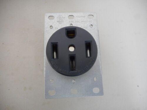 COBRA ELECTRIC 50AMP 250V 4-WIRE RANGE RECEPTACLE FEMALE STOVE PLUG