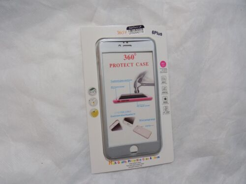360 Degree protect case for Iphone 6 Plus Silver