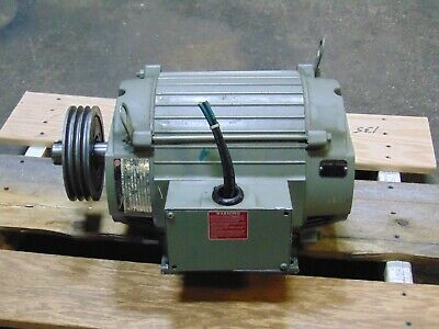 20 Hp 3 Phase Electric Motor 215t 3600 Rpm 200 Volt