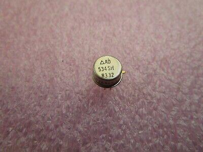 (4 USED) AD Internally Trimmed Precision IC Multiplier AD534SH 8332 4 Multiplier Trim
