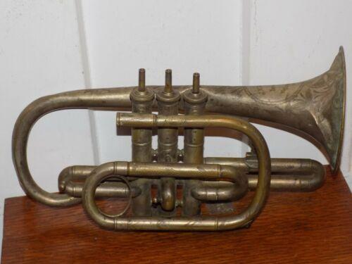 Vintage J W Pepper Imported Philadelphia 19628 Horn Trumpet