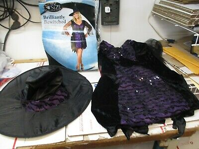 DISGUISE BRILLIANTLY BEWITCHED XL 18/20 HALLOWEEN COSTUME 23884F FREE SHIP