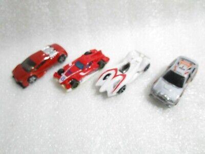 4 x  Hot Wheels Mach 5 , Forul8r , Zotic , Escort Rally Diecast Cars