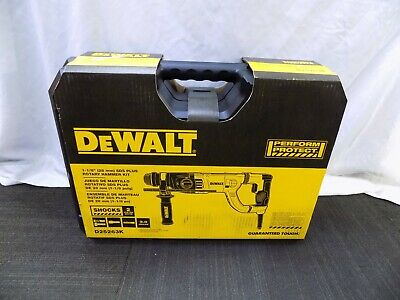 Brand New Dewalt Corded 1-18 Sds-plus Rotary Hammer Kit D25263k