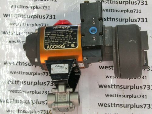 """1/2""""  Worcester Controls/Flowserve E4466XMSE Valve """"Used"""""""