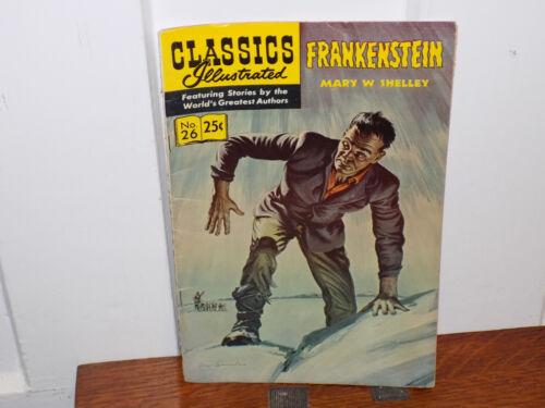 Classics Illustrated Frankenstein Comic Book