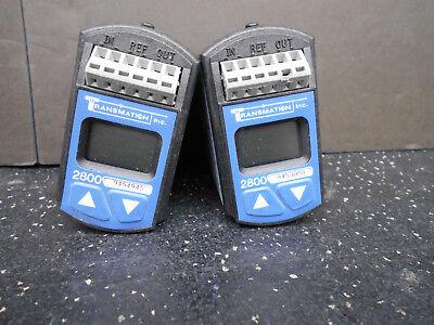 Lot Of 2 Transmation 2800 Temperature Control Transmitter