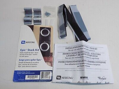Maytag Epic Stack Kit For Epic Stacked Washer & Dryer 8212640 Maytag Stacking Kit