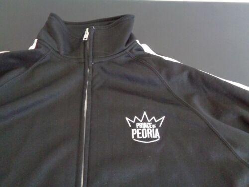 PRINCE OF PEORIA Promotional NETFLIX Sweatshirt SMALL Track Jacket FREE SHIPPING