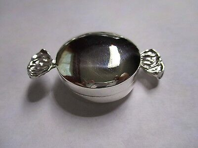 Sterling Silver Pill Box large Candy wrap 925 solid silver gorgeous 2 inch long (Wrap Square Box)