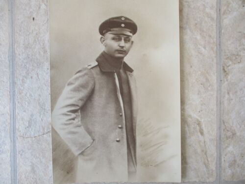 Original WWI Imperial German Flight Officer Photograph