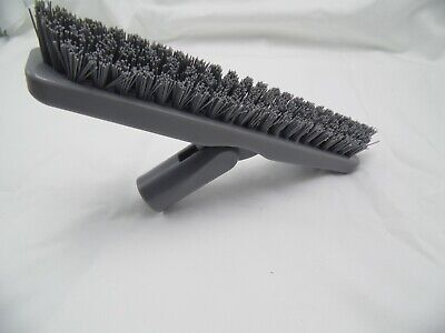 Commercial Tile Grout Brush 9 Stiff V Shape Gray Free Ship