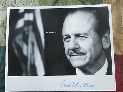 1960's Frank Moss (Senator of Utah) signed Photograph