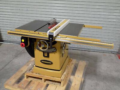 Powermatic Table Saw W Accu-fence 10 Blade 5 Hp 230460v 3 Ph Pm25330k Repair