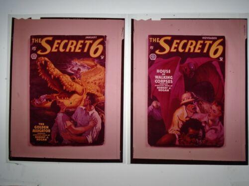 THE SECRET 6 ROBERT J. HOGAN PULP color TRANSPARENCY/SLIDE ORIGINAL movie photo