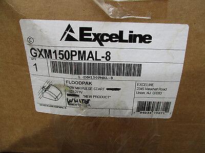 Exceline 150 WATT Metal Halide Flood Pack 120/277 Volt, White- NEW