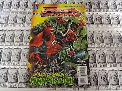 Red Lanterns (2011) DC - #12, Rage, Atrocitus, Milligan/Sepulveda, NM/- (New 52)