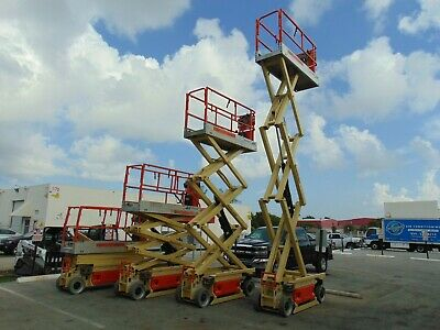 Jlg 2030es Pro Site Electric 26 Work Height Scissor Lift - Refurbished By Jlg