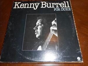 KENNY BURRELL FOR DUKE VINYL LP FANTASY