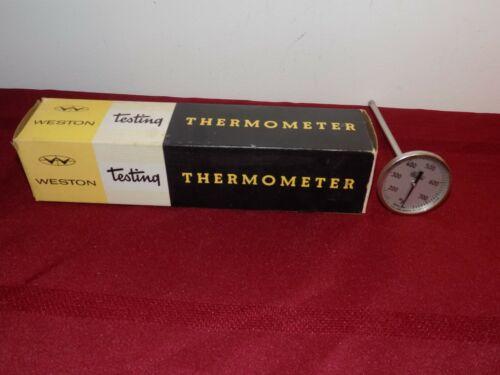 "Weston Thermometer RANGE 150-750 degrees 6"" Stem General Testing MODEL 2281"