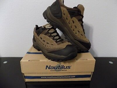 Nautilus Men's Steel Toe Shoes N9000 size 9.5 med NIB great Safety Footwear (Medium Footwear Casual Shoes)