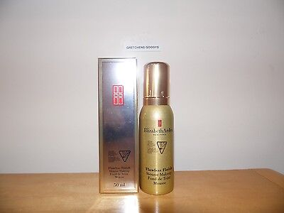Elizabeth Arden Flawless Finish Mousse Makeup Natural #02 NIB