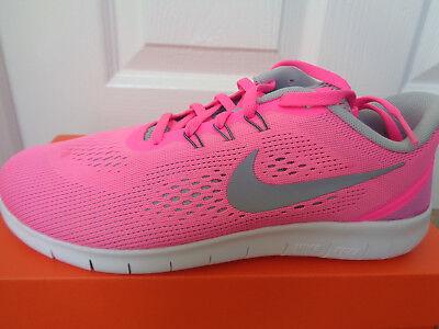Nike Free RN (GS) trainers shoes 833993 600 uk 5.5 eu 38.5 us 6 Y NEW+BOX