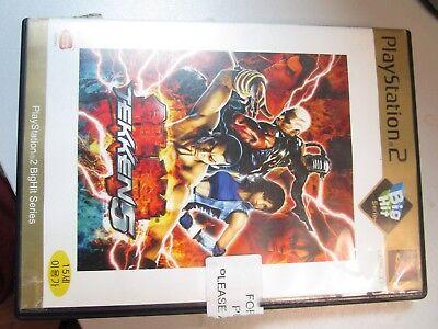 Tekken 5 playstation 2 Korean Version (Big Hit Series)