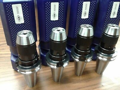 4 Cat40 Ball Bearing Keyless Drill Chucks 38 Integral Design Dck-cat40-38